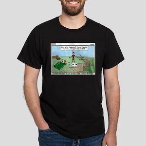 Snoring or Earthquake Dark T-Shirt