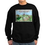 Snoring or Earthquake Sweatshirt (dark)