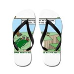 Snoring or Earthquake Flip Flops