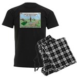 Snoring or Earthquake Men's Dark Pajamas