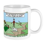 Snoring or Earthquake Mug