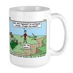 Snoring or Earthquake Large Mug