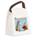 Dog Care Canvas Lunch Bag