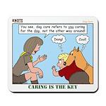 Dog Care Mousepad