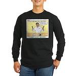 Foil Dinners Long Sleeve Dark T-Shirt