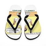 Foil Dinners Flip Flops
