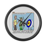 Archery Large Wall Clock