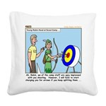 Archery Square Canvas Pillow