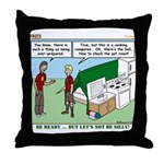 Camp Kitchen Throw Pillow