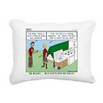 Camp Kitchen Rectangular Canvas Pillow