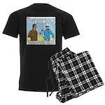 Arrow Club Men's Dark Pajamas