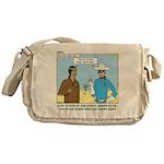 Arrow Club Messenger Bag