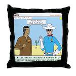 Arrow Club Throw Pillow