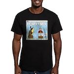 Knots Jamboree Men's Fitted T-Shirt (dark)