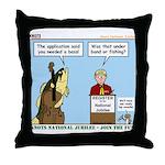 Knots Jamboree Throw Pillow