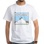 Latrine Location White T-Shirt