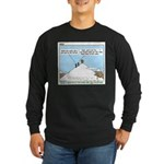 Latrine Location Long Sleeve Dark T-Shirt