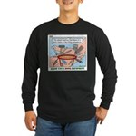 Utility Knife Long Sleeve Dark T-Shirt