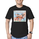 Utility Knife Men's Fitted T-Shirt (dark)