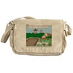 Clean Campsite Messenger Bag
