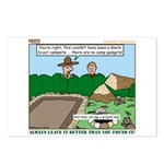 Clean Campsite Postcards (Package of 8)