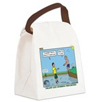 Safe Swim Canvas Lunch Bag