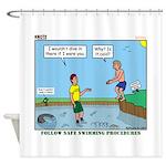 Safe Swim Shower Curtain