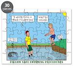 Safe Swim Puzzle