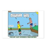 Safe Swim Postcards (Package of 8)