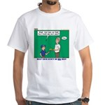 Derby Dad White T-Shirt