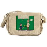 Derby Dad Messenger Bag