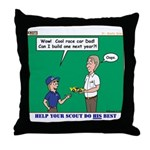 Derby Dad Throw Pillow