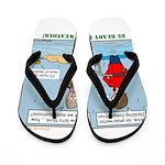 Winter Campout Flip Flops