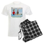Winter Campout Men's Light Pajamas