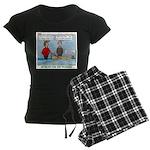 Winter Campout Women's Dark Pajamas