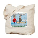 Winter Campout Tote Bag