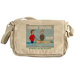 Winter Campout Messenger Bag
