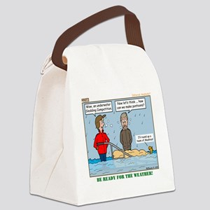 Winter Campout Canvas Lunch Bag