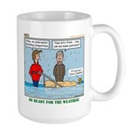 Winter Campout Large Mug