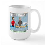 Winter Campout Large Mug