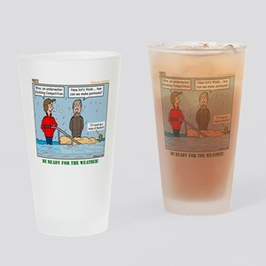Winter Campout Drinking Glass