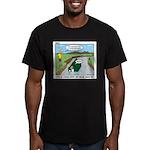 High Ground Men's Fitted T-Shirt (dark)