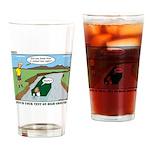 High Ground Drinking Glass