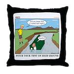 High Ground Throw Pillow