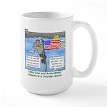 Thunderstorm Large Mug