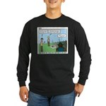 Fire Safety Long Sleeve Dark T-Shirt