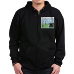 Fire Safety Zip Hoodie (dark)