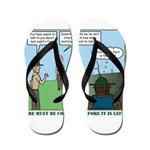 Fire Safety Flip Flops