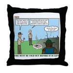 Fire Safety Throw Pillow