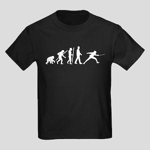 evolution fencing Kids Dark T-Shirt